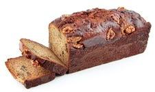 Gluten Free Date & Walnut Banana Bread
