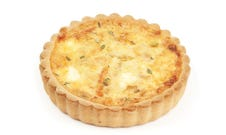 Goats Cheese & Onion Quiche (4 pack)