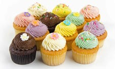 Gluten Free Pastel Cupcakes x 12