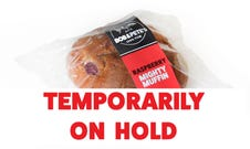 Wrapped Mighty Muffin Raspberry
