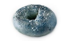 Blueberry Sugared Bagel