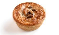 Vegan Meaty Mushroom Lentil Pie