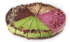 22cm Large Vegan Cake Wheel Mixed 16 Srv