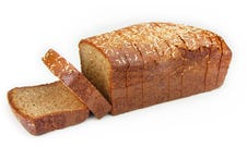 GF Thick Sliced Raspberry Coconut Bread